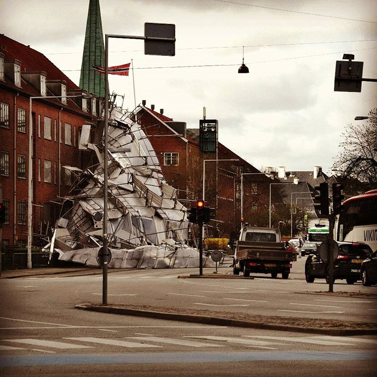 What seemed to be an incredible street intervention artwork turnedhellip