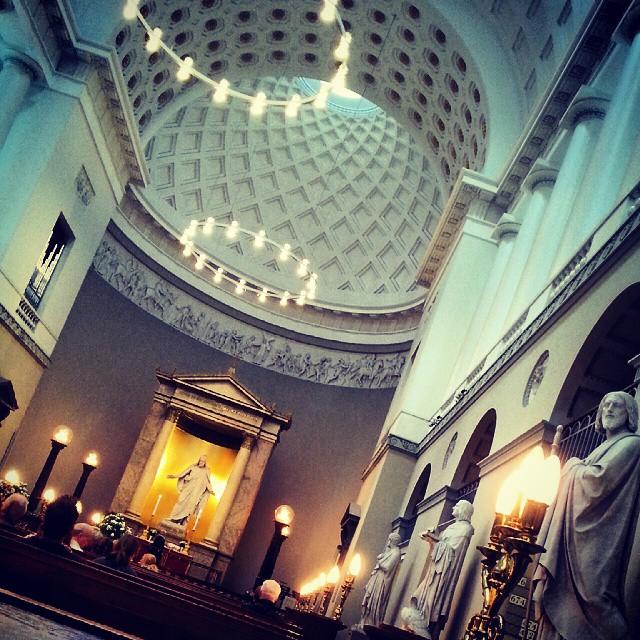 Copenhagen Architecture Cathedral Vor Frue Kirke Bertel Thorvaldsen Christ