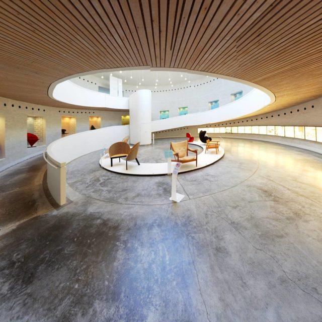 trapholt museum of modern art designed by Boje Lundgaard andhellip