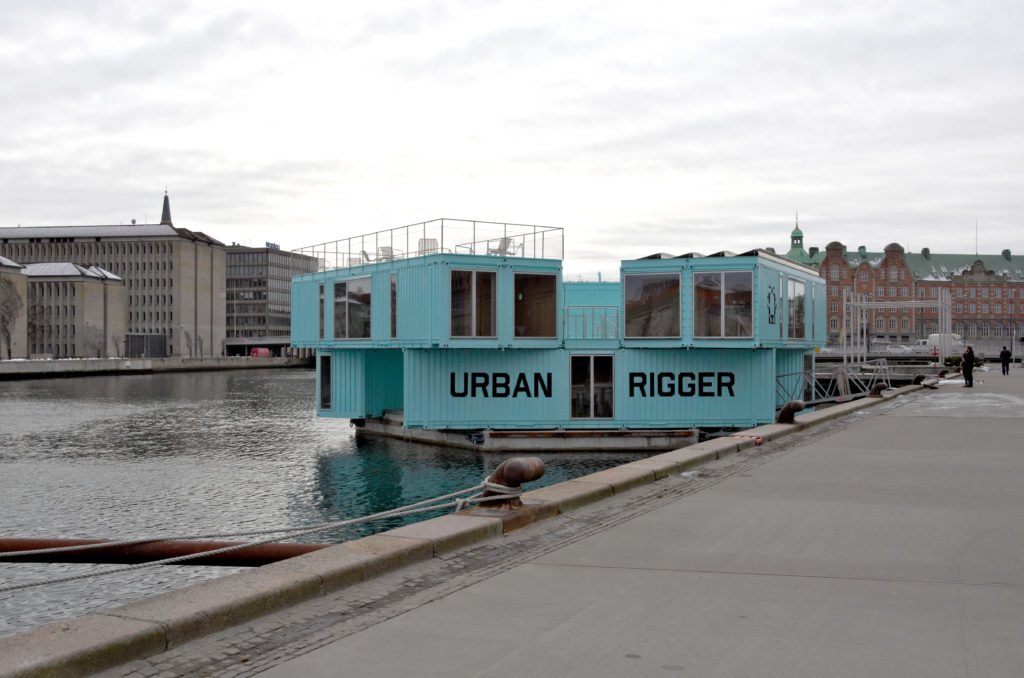 Urban rigger student housing by BIG