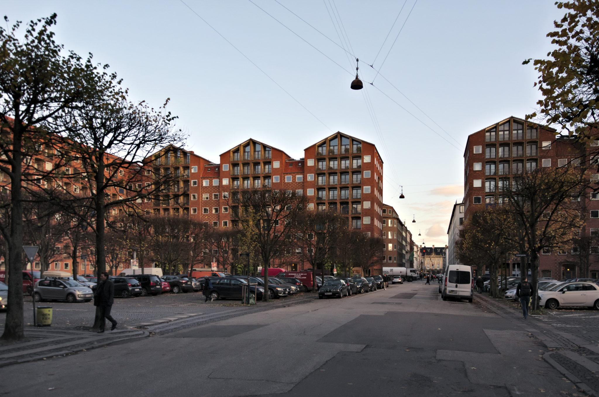 Copenhagen functionalist Architecture Dronningegården Kay Fisker C. F. Møller & Svenn Eske Kristensen