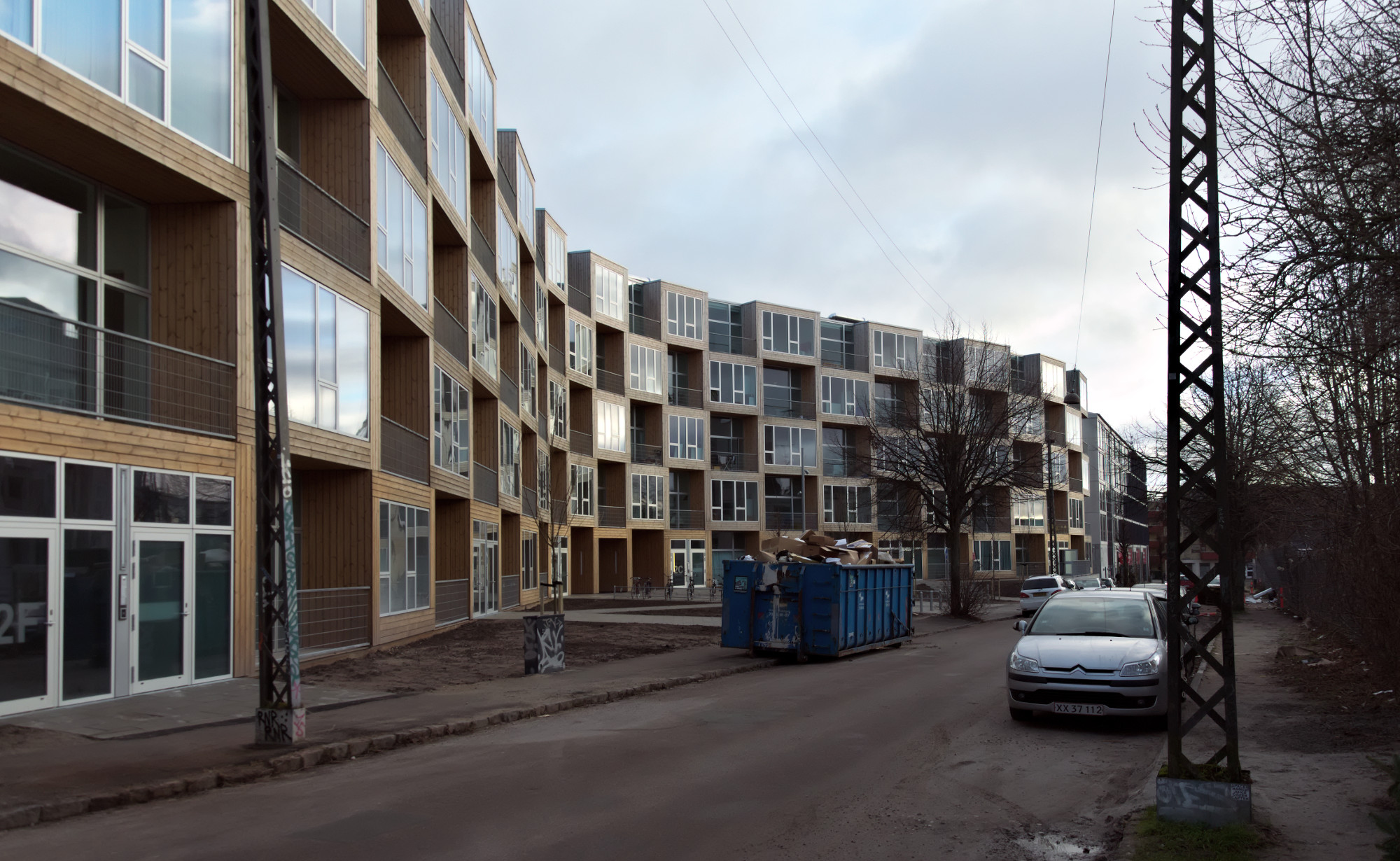 BIG social housing at Dortheavej