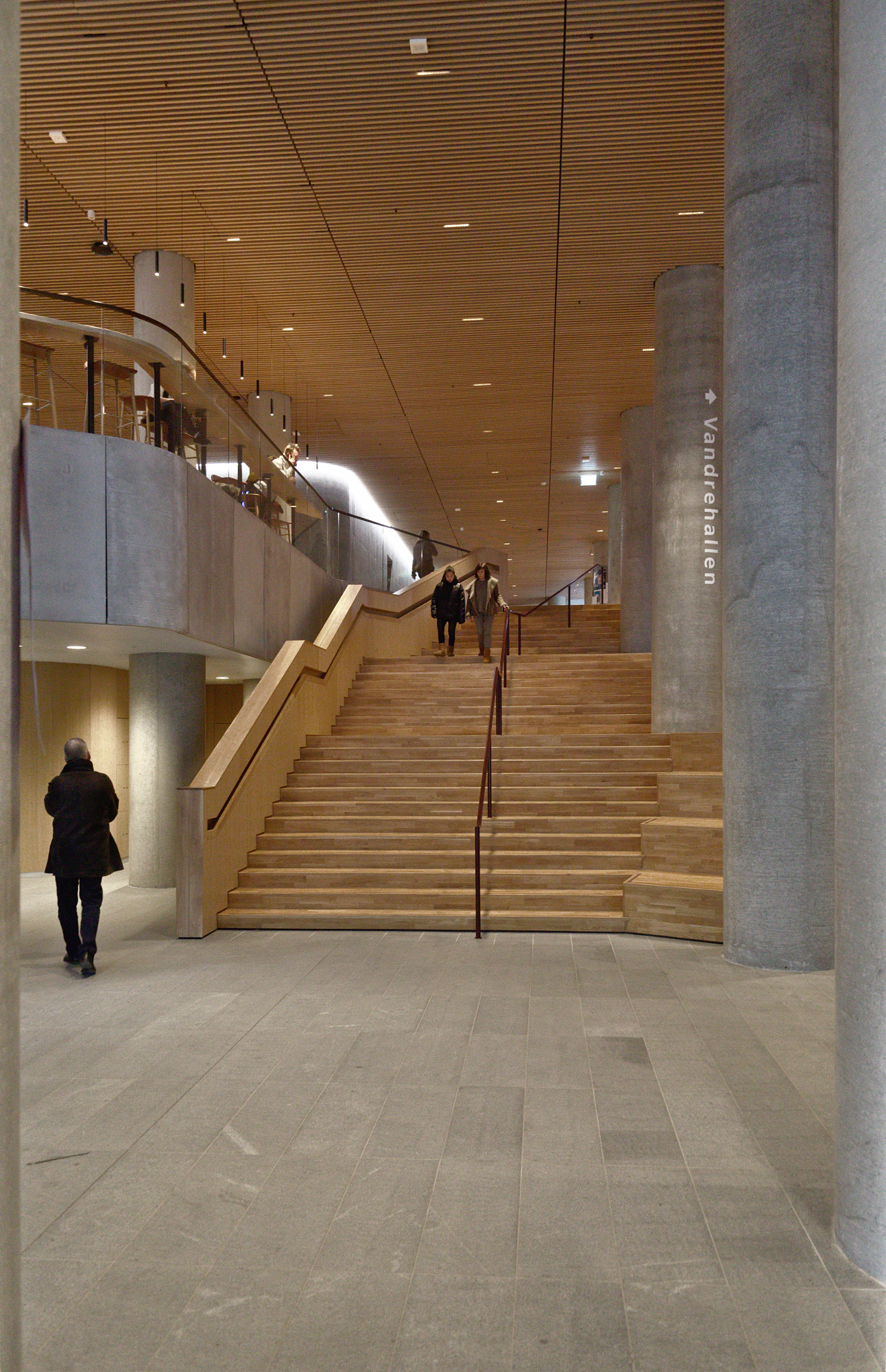 Open Foyer Copenhagen : Maersk tower by c f møller architects ⋆ copenhagen