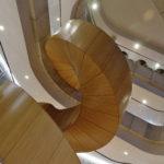 Mærsk tårnet Maersk Tower C F Møller Panum Laboratories stair