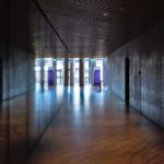 Mærsk tårnet Maersk Tower C F Møller Panum auditorium hallway