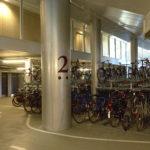 Mærsk tårnet Maersk Tower C F Møller Panum bike parking