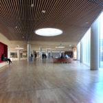 Mærsk tårnet Maersk Tower C F Møller Panum hallway