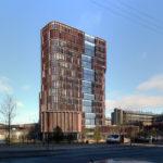 Mærsk tårnet Maersk Tower C F Møller Panum streetview facade