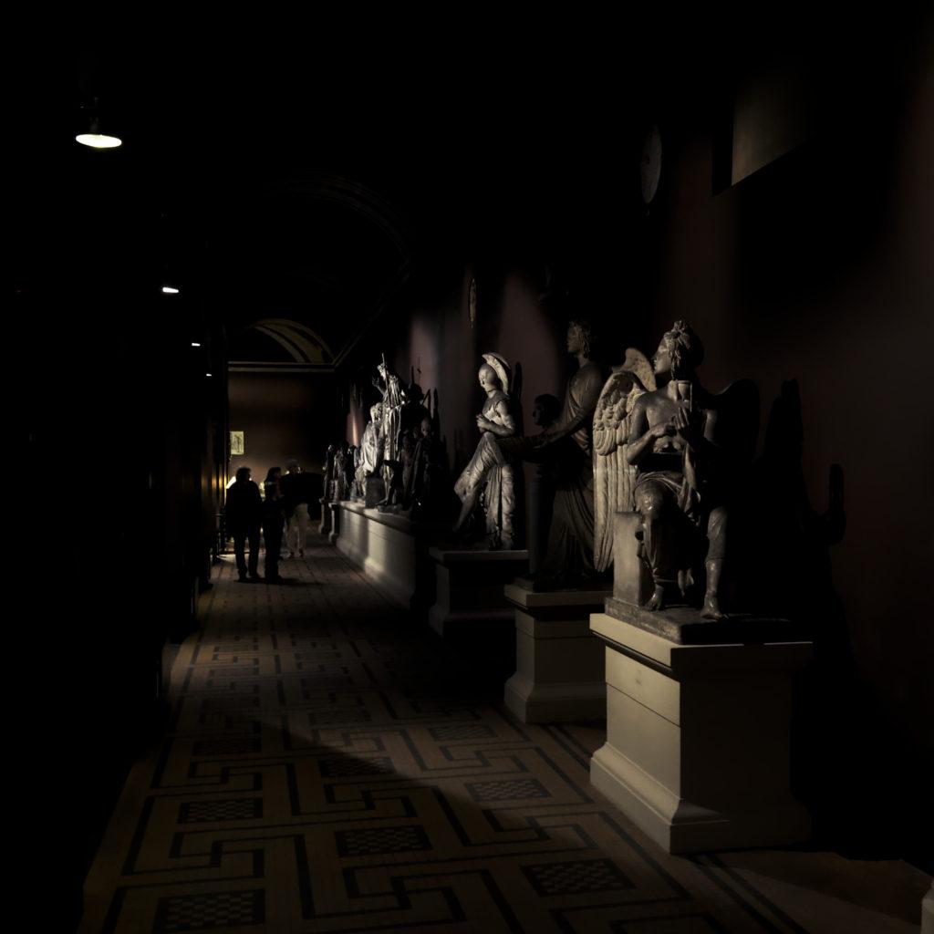 Sculptures at the Thorvaldsen museum by Bindesbøll