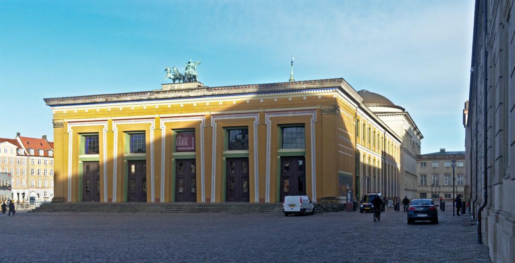 Thorvaldsen museum - Main facade - Bindesbøll