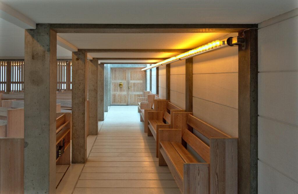 Bagsværd Church by Jørn Utzon Interior