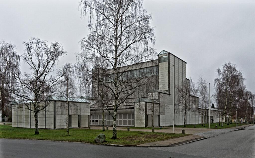 Bagsværd Church by Jørn Utzon Exterior