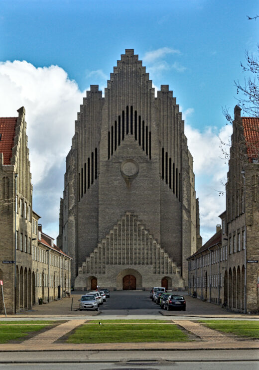 Grundtvig's Church by Jensen-Klint Main facade
