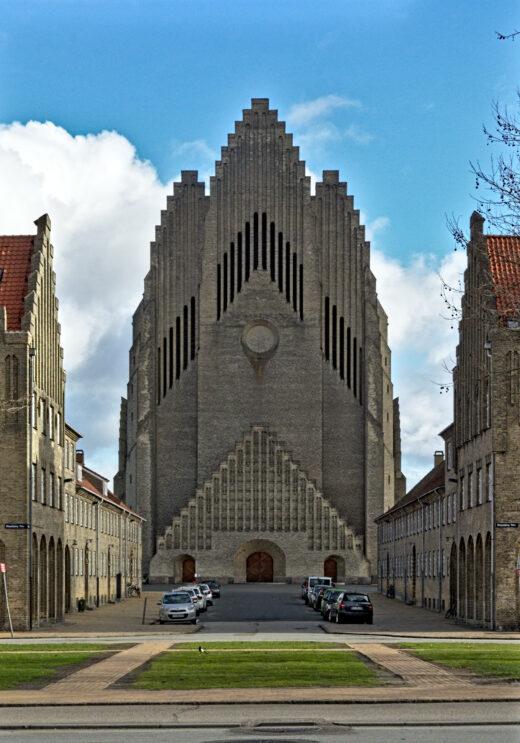Grundtvig's Church by Jensen-Klint Main facade