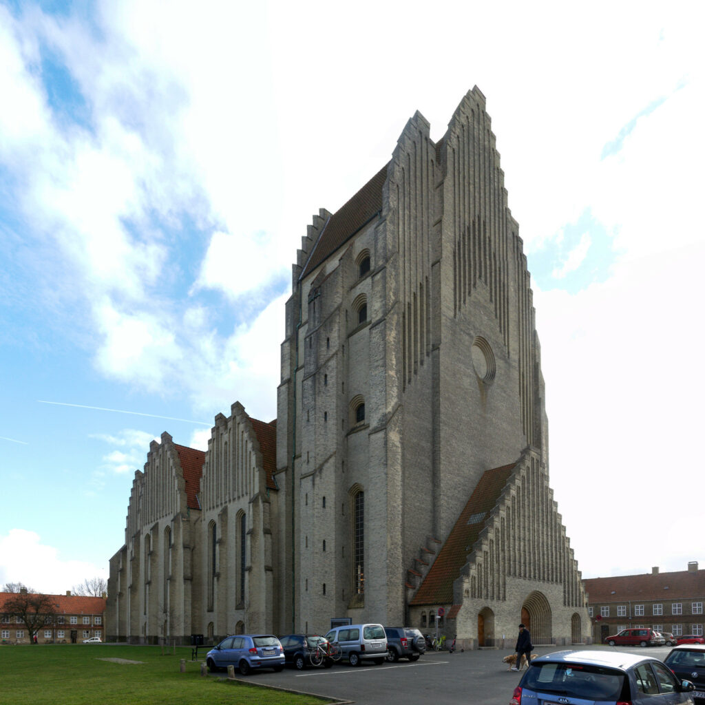 Grundtvig's Church by Jensen-Klint Exterior