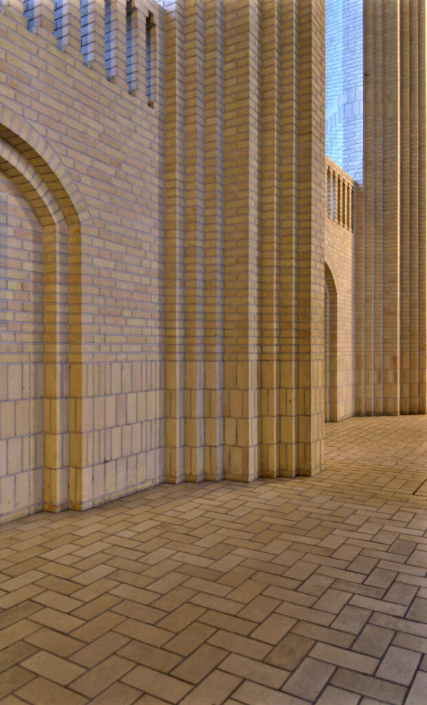 Grundtvig's Church by Jensen-Klint Columns