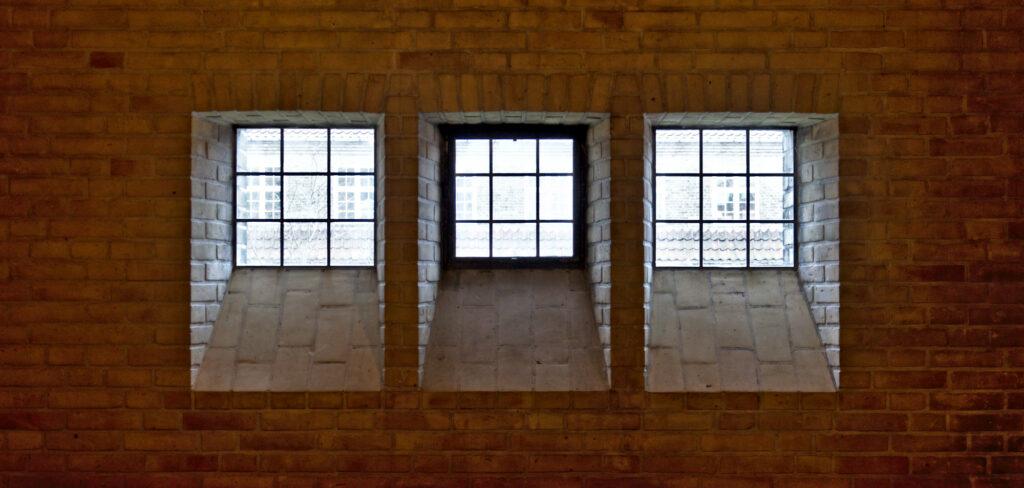 Grundtvig's Church by Jensen-Klint Windows