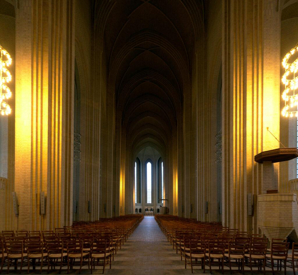 Grundtvig's Church by Jensen-Klint Nave