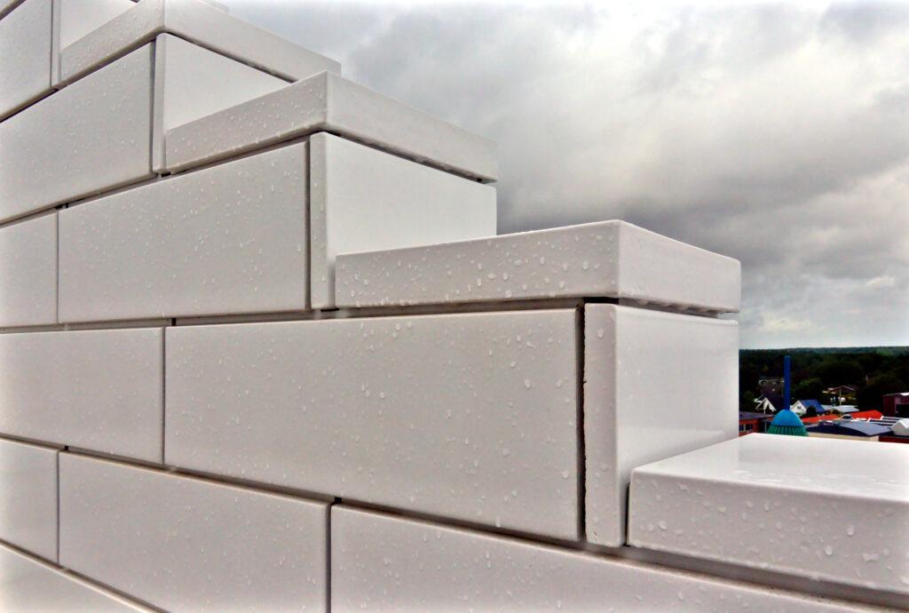 LEGO House by BIG facade tiles
