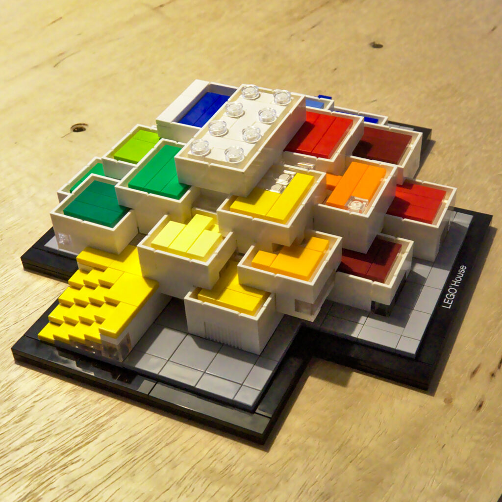 LEGO House by BIG LEGO Architecture set