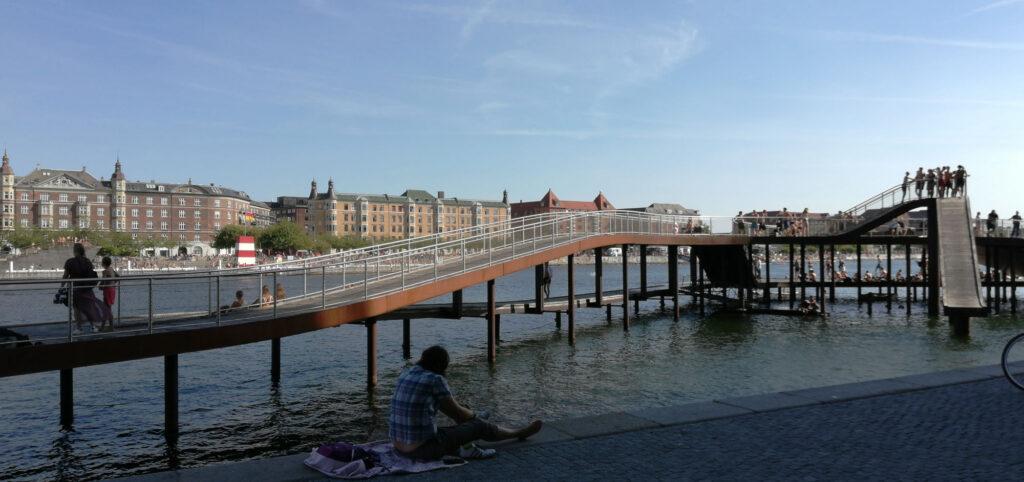 Kalvebod Waves in Copenhagen by JDS Julien De Smedt