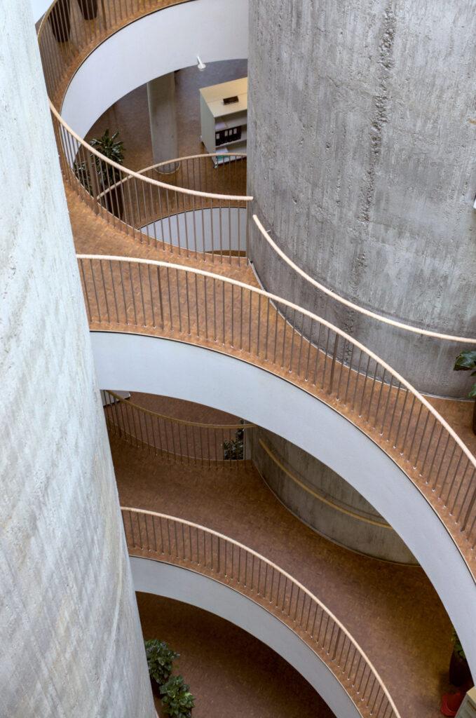 SEB Bank hq by Lundgaard & Tranberg interior