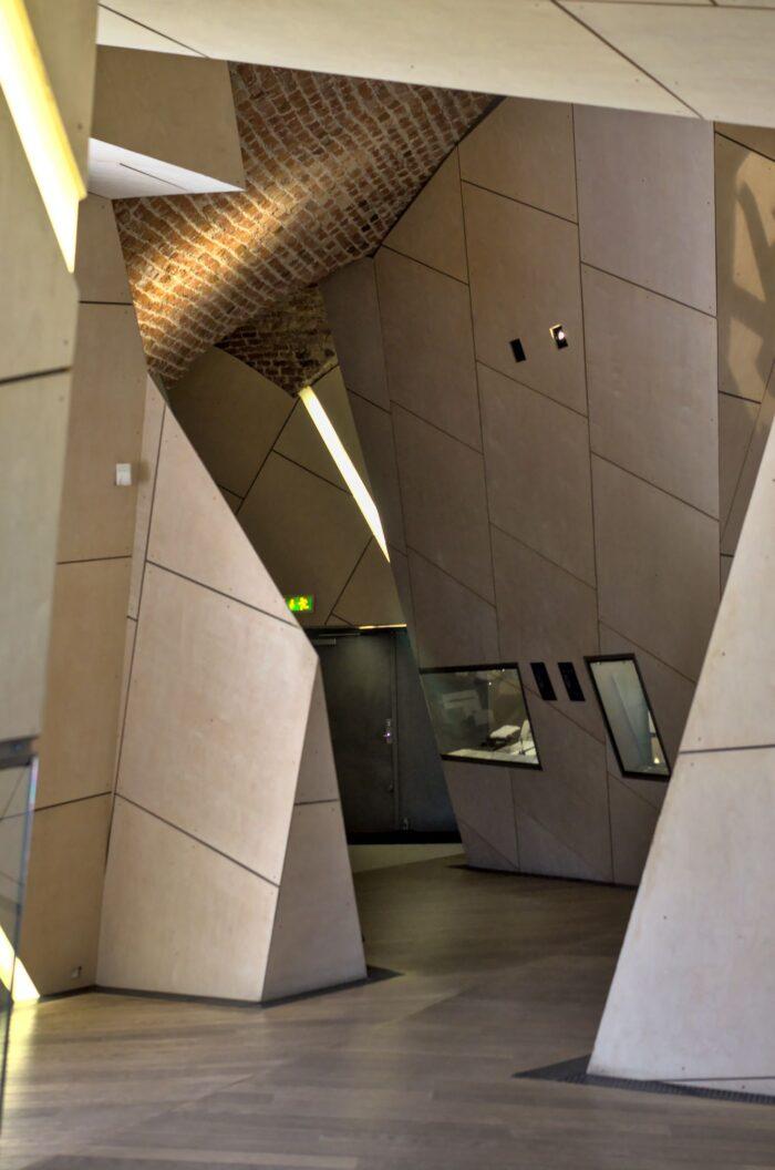 Danish Jewish Museum by Daniel Libeskind
