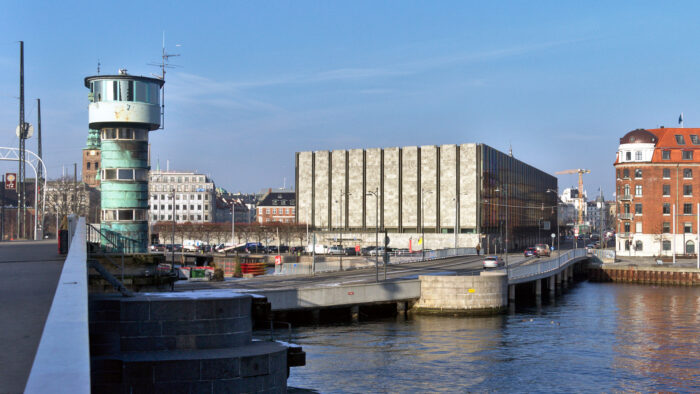 Central Bank of Denmark (Nationalbanken) by Arne Jacobsen