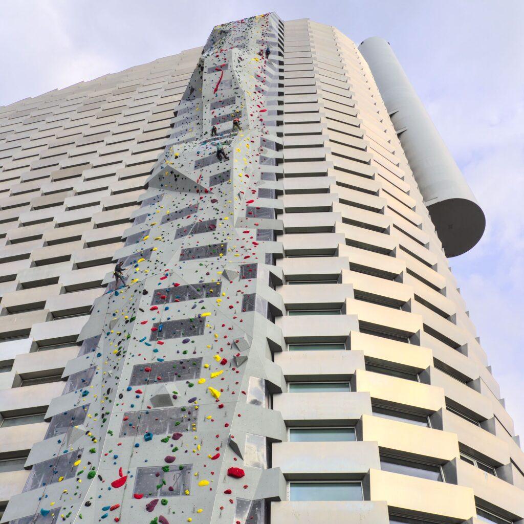 Copenhill Amager Bakke by BIG Climbing Wall (Bjarke Ingels Group)