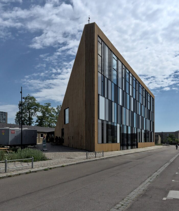 Tingbjerg Library by COBE